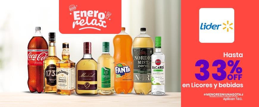 Lider- Licores y bebidas ENERO 2021