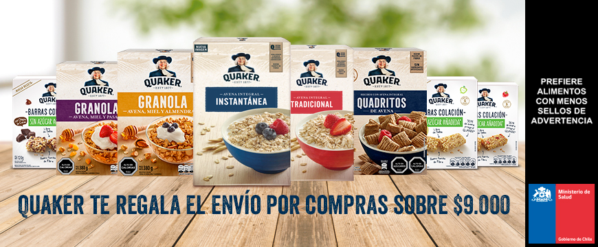 [REVENUE] QUAKER BACK TO SCHOOL LIDER