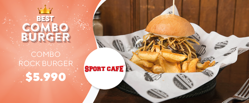 best combo burger sport cafe