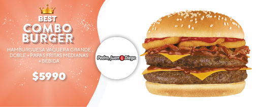 Burger Vaquera Doble
