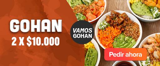 Vamos Gohan: 2 Gohan x $10.000