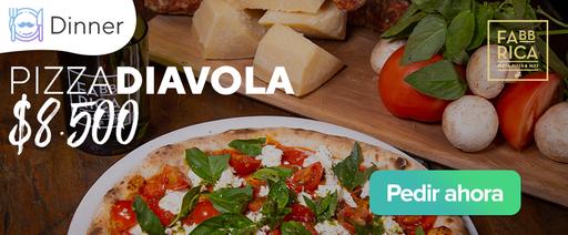 Pizza Diavola $8.500
