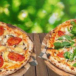 Combo 2 Pizzas Veg