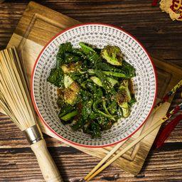 Brócoli, Espinaca y Cebollín