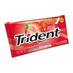 Trident Chicle Frutilla