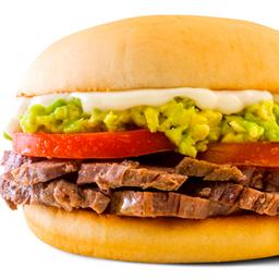 Sándwich Mechado Italiano