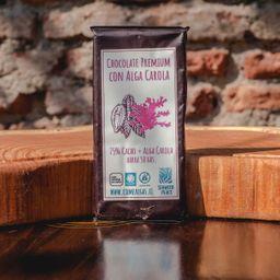 Chocolate Alga Carola Cacao 75% 50G