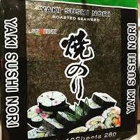 Alga Yaki Sushi Nori .10 Hojas.