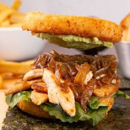 Sushi-Burger Chicken