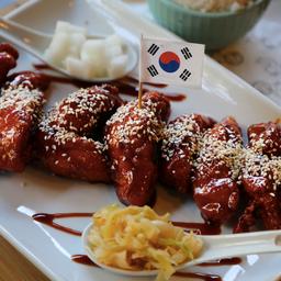 Korean Sticky Fried Chicken