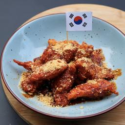Korean Soya-Sauce Fred Chicken
