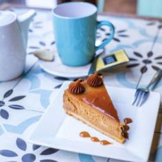 Cheesecake Dulce de Leche sin Azúcar