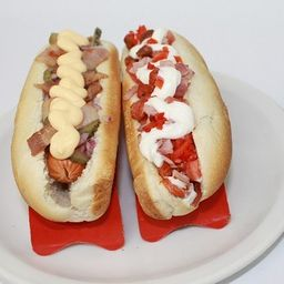 As español, Hotdog Gringo y Bebida Mini