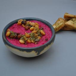Hummus de Betarraga