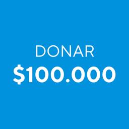 Donar $100.000
