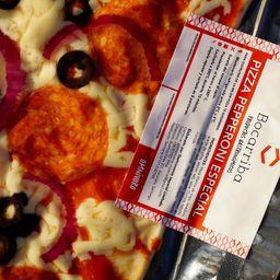 Pizza a la Piedra Pepperoni Especial
