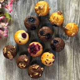 Mini Muffins Sin Azúcar