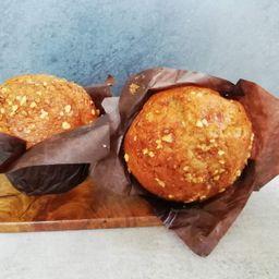 Muffin Mediano Nuts & Cream 110g