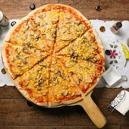 Pizza Familiar Champiñón y Choclo