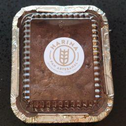 Brownie Chocolate Belga y Almendras