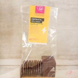 Laminas 85% Cacao Energía