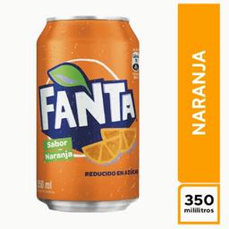 Fanta Naranja 350 ml
