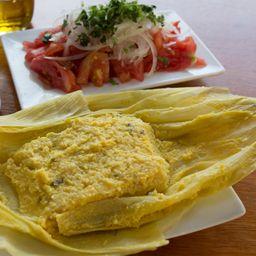 Promo Humita 1/2 kg + Ensalada