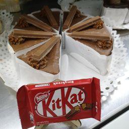 Trozo Torta Kit Kat