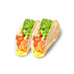 Tacos con Camarón