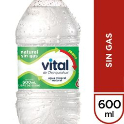 Agua sin Gas 600 ml