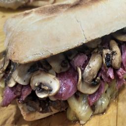 Sandwich Plateada Queso