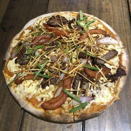 Pizza Lomo Salteado
