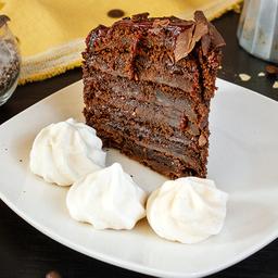 Torta de Panqueque Chocolate Trufa Framb