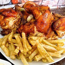 Promo 3 - 3/4 Pollo a Las Brasas