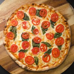 Pizza Margarita Ajo Vegana Familiar