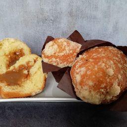 Muffin Grande Vainilla Dulce de Leche