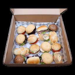 Caja Mini Sándwiches 24 Unidades