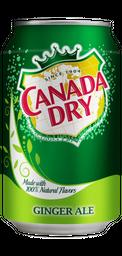 Canada Dry lata 350 cc