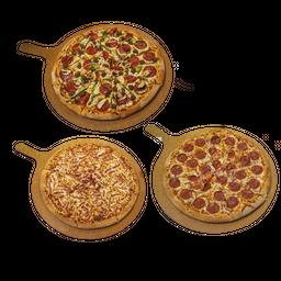 Combo Rappi 1 (3 pizzas a elección)