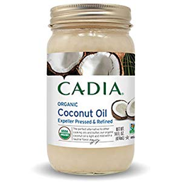 Aceite De Coco Refinado Org Cadia 414Gr