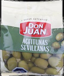 Aceituna Don Juan Sevillana 200Gr