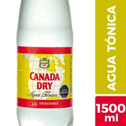 Canada Dry Agua Tonica Ginger Ale