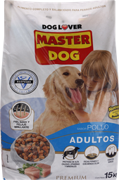 Alim Perro Masterdog Pollo 15Kg