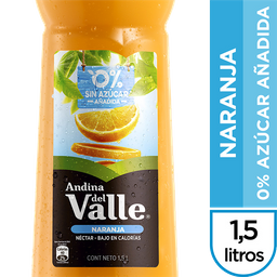 Andina Del Valle Nectar Light Naranja No Retorn