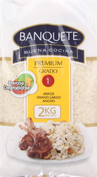 Arroz Banquete Premium G1 2Kg