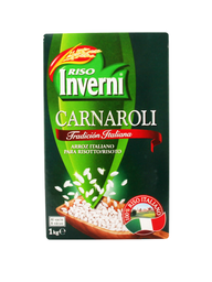 Arroz InverniCarnaroli 1 Kg