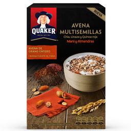 Avena Quaker Multisemilla Maní y Almendra 500 g