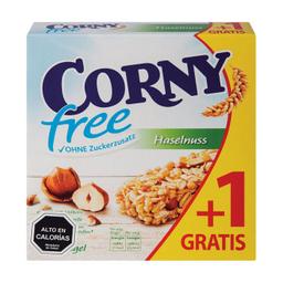 Barra Cereal Corny Free Avellana 6X20G