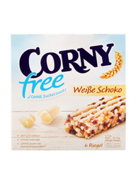 Barra Cereal Corny Free Choc Blanc 6X20G