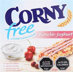 Barra de Cereal Corny Free Guind, cereza 6X20 g